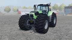 Deutz-Fahr Agrotron X 720 Terra tires para Farming Simulator 2013