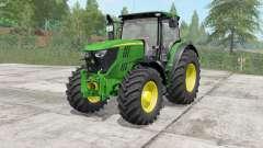 John Deere 6175R-6215R para Farming Simulator 2017