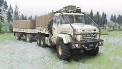 KrAZ-6322 v1.5 para Spin Tires