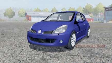 Renault Clio R.S. 2008 para Farming Simulator 2013