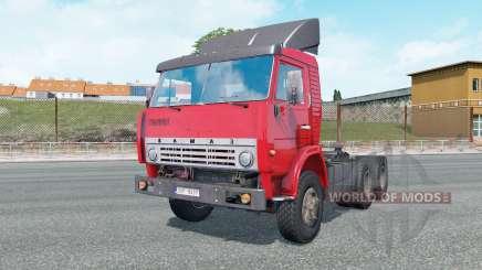 KamAZ-5410 cor vermelho brilhante para Euro Truck Simulator 2