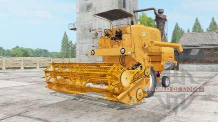 Bizon Super Z056 yellow orange para Farming Simulator 2017