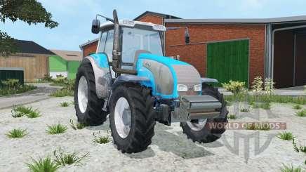 Valtra T140 vivid sky blue para Farming Simulator 2015