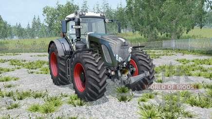 Fendt 936 Vario Black Beauty twin wheels para Farming Simulator 2015