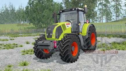 Claas Axion 850 key lime pie para Farming Simulator 2015