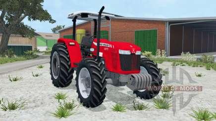 Massey Ferguson 4275 vivid red para Farming Simulator 2015