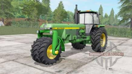 John Deere 4555-4755 trike para Farming Simulator 2017