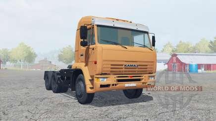 KamAZ-6460 macio, cor de laranja para Farming Simulator 2013