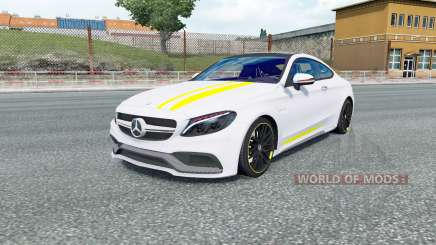 Mercedes-AMG C 63 S coupe (C205) 2016 para Euro Truck Simulator 2
