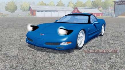 Chevrolet Corvette Z06 (C5) 2001 para Farming Simulator 2013