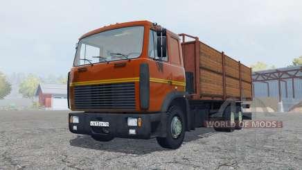 MAZ-6303 com reboque para Farming Simulator 2013
