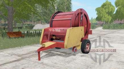 PR-f-180Б moderadamente cor vermelha para Farming Simulator 2017