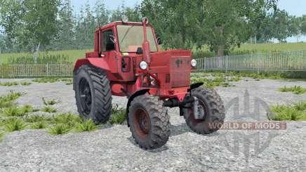 MTZ-82 Bielorrússia macio, de cor vermelho- para Farming Simulator 2015