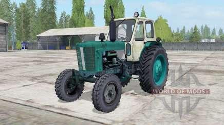 YUMZ-6L cor verde pinho para Farming Simulator 2017