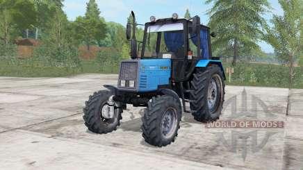 MTZ-892 Bielorrússia elétrica-cor azul para Farming Simulator 2017