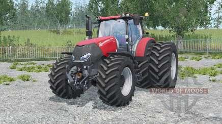 Case IH Optum 300 CVX alizarin crimson para Farming Simulator 2015