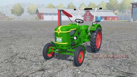 Deutz D 25 with cutter bar para Farming Simulator 2013