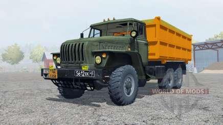 Ural-5557 escuro-acinzentado cor verde para Farming Simulator 2013