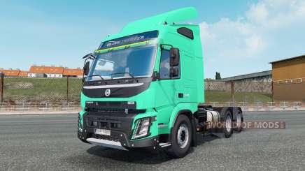 Volvo FMX 540 Globetrotter cab 2013 para Euro Truck Simulator 2