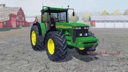 John Deere 8410 pigment green para Farming Simulator 2013