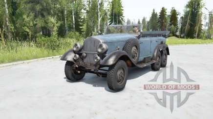 Mercedes-Beɳz G4 (W31) 1938 para MudRunner
