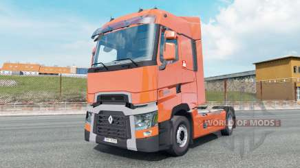 Renault T-series High Sleeper Cab para Euro Truck Simulator 2