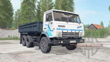 KamAZ-5320 escuro ninasimone-azul corpo para Farming Simulator 2017
