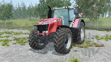 Massey Ferguson 8737 tart orange para Farming Simulator 2015