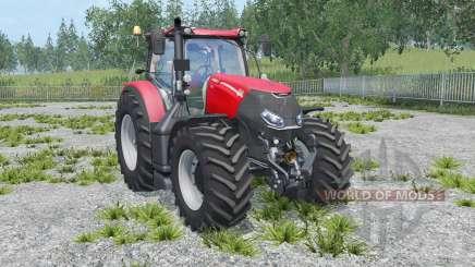 Case IH Optum 300 CVX twin wheels para Farming Simulator 2015