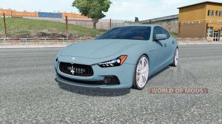 Maserati Ghibli S (M157) para Euro Truck Simulator 2