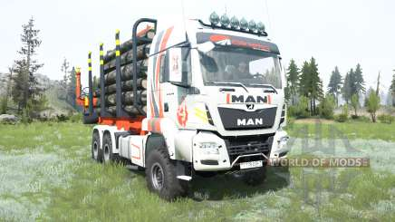MAN TGS Girteka Logistics para MudRunner