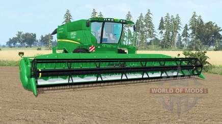 A John Deere S690i pantone gᶉeen para Farming Simulator 2015