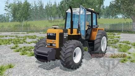 Renault 155.54 TX neon carrot para Farming Simulator 2015
