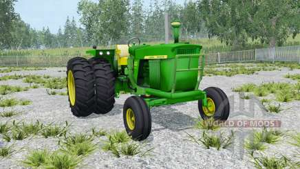 John Deere 4020 double wheels para Farming Simulator 2015