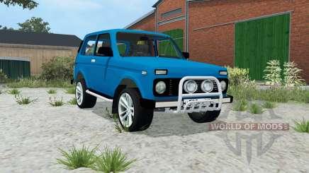 Lada Niva 4x4 (21214) para Farming Simulator 2015