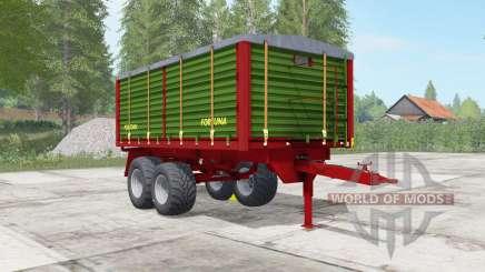 Fortuna FTD 150 sap green para Farming Simulator 2017