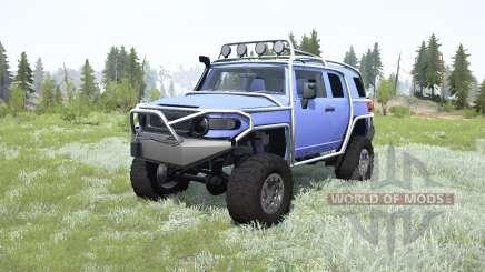 Toyota FJ Cruiser (GSJ15W) para MudRunner