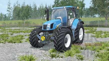 New Holland T6.160 rich electric blue para Farming Simulator 2015