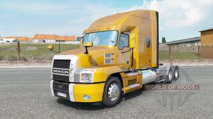 Mack Anthem Stand Up Sleeper Cab dark pear para Euro Truck Simulator 2