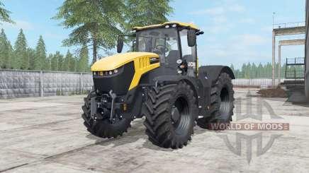JCB Fastrac 8330 deep lemon para Farming Simulator 2017