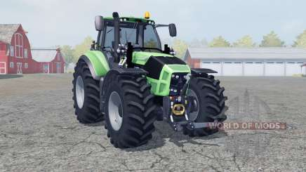 Deutz-Fahr 7250 TTV Agrotron manual ignition para Farming Simulator 2013