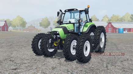 Deutz-Fahr Agrotron TTV 430 caᶉe rodas para Farming Simulator 2013