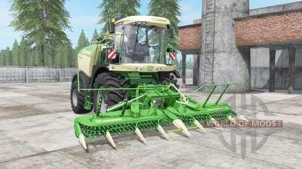 Krone BiG X 580 mit bunker para Farming Simulator 2017