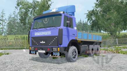 MAZ-6303 removível módulos para Farming Simulator 2015