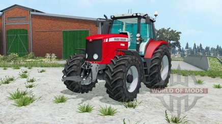 Massey Ferguson 6499 ruddy para Farming Simulator 2015