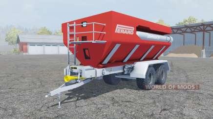 Perard Interbenne 25 coral red para Farming Simulator 2013
