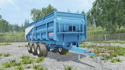 Maupu TDM picton blue para Farming Simulator 2015