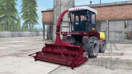 Palesse 2U250A escuro moderada cor vermelha para Farming Simulator 2017