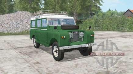 Land Rover 109 Station Wagon 1965 para Farming Simulator 2017