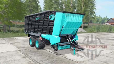 Lely Tigo XR 75 D turquoise blue para Farming Simulator 2017